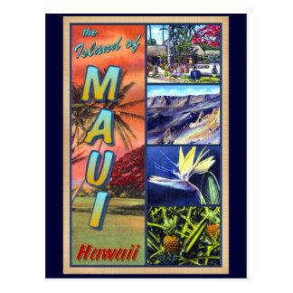 L'île de Maui Hawaï Carte Postale