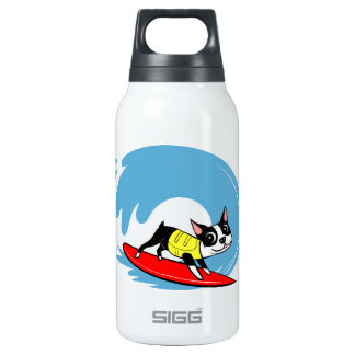 Lili Chin Surfing Boston Collection Insulated Water Bottle