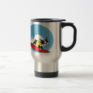 Lili Chin Surfing Boston Collection Travel Mug