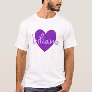Liliana in Purple T-Shirt