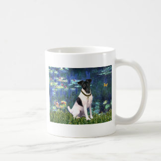 Lilies 5 - Smooth Fox Terrier Coffee Mug