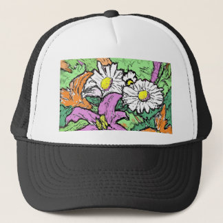 Lilies and Daisies Trucker Hat