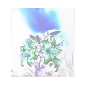 Lilies and Smoke Notepad
