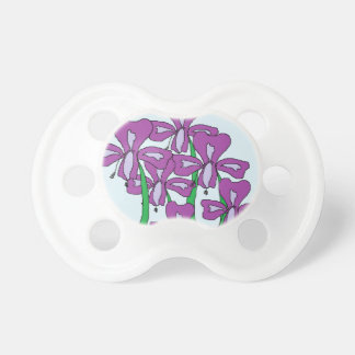 Lilies Baby Pacifier