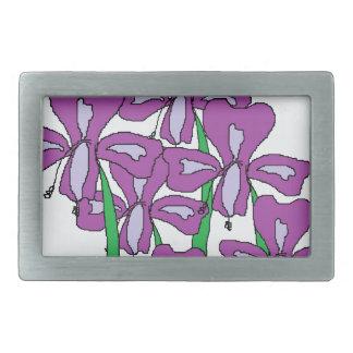 Lilies Belt Buckle