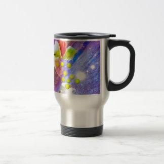 Lilies drop tennis balls to celebrate . travel mug