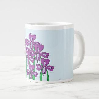 Lilies Giant Coffee Mug