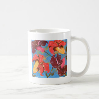 Lilies in the Garden of Eden Classic White Coffee Mug