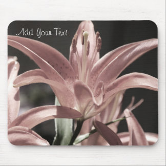Lilies-Muted Tones by Shirley Taylor Mouse Pad