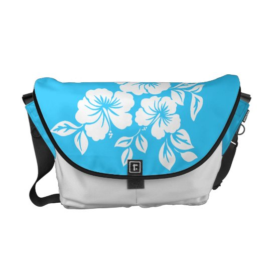 Lilikoi Hibiscus Hawaiian Messenger Bag