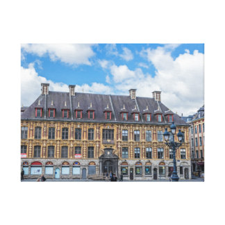 Lille Old Stock Exchange canvas print