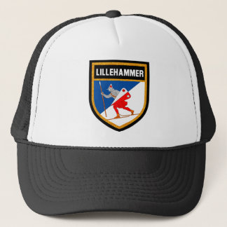 Lillehammer Flag Trucker Hat