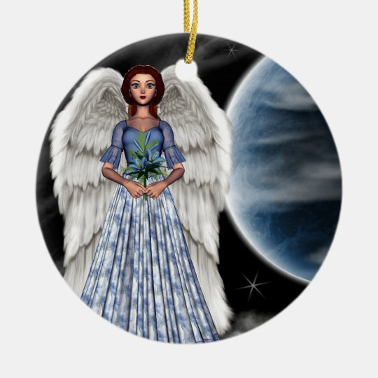 Lillia Ceramic Ornament