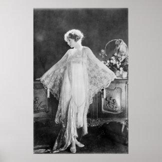 Lillian Gish Classic Poster