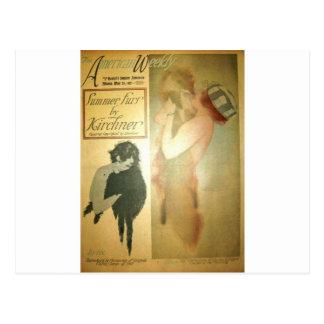 Lillian Lorraine, Hearst's Sunday American Raphael Postcard