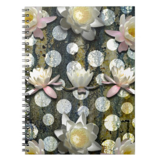 LILLIES AND POLKA DOTS NOTEBOOKS