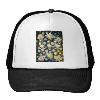 LILLIES AND POLKA DOTS TRUCKER HAT