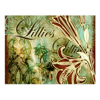 Lillies Post Cards