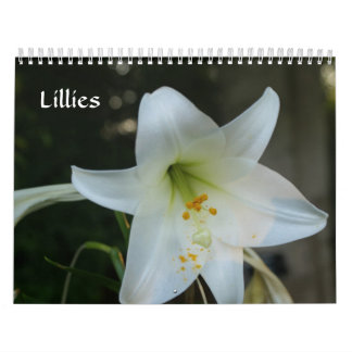 Lillies Wall Calendar