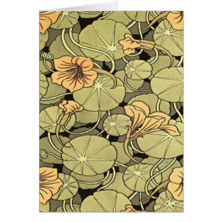 Lilly Flowers Card