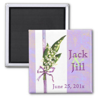 Lilly of the Valley BRIDAL magnet