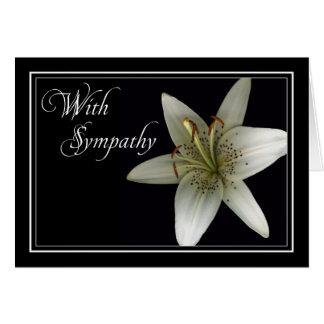 Lilly Sympathy/Condolence Car Card