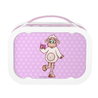 Lilly The Sheep Taking a Selfie. Lunch Box