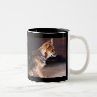 Lilly Two-Tone Coffee Mug
