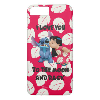 Lilo & Stich | I Love You To The Moon iPhone 7 Plus Case
