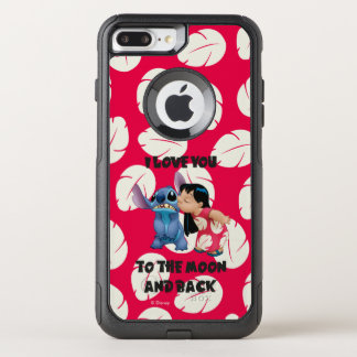Lilo & Stich | I Love You To The Moon OtterBox Commuter iPhone 7 Plus Case