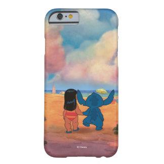 Lilo & Stich  Lilo & Stitch At The Beach Barely There iPhone 6 Case