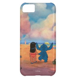 Lilo & Stich  Lilo & Stitch At The Beach iPhone 5C Cover