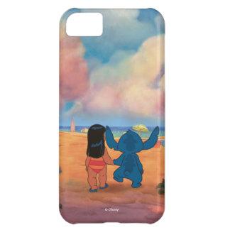 Lilo & Stich  Lilo & Stitch At The Beach iPhone 5C Covers