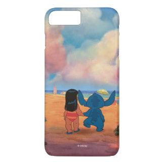 Lilo & Stich |Lilo & Stitch At The Beach iPhone 8 Plus/7 Plus Case