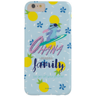 Lilo & Stich   Ohana Means Family Barely There iPhone 6 Plus Case