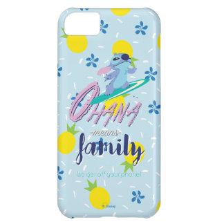 Lilo & Stich   Ohana Means Family iPhone 5C Case