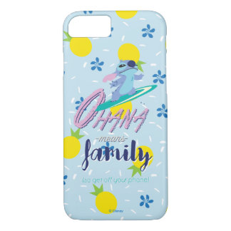 Lilo & Stich | Ohana Means Family iPhone 8/7 Case