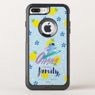 Lilo & Stich   Ohana Means Family OtterBox Commuter iPhone 8 Plus/7 Plus Case