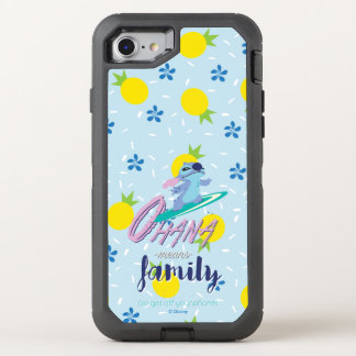 Lilo & Stich | Ohana Means Family OtterBox Defender iPhone 8/7 Case