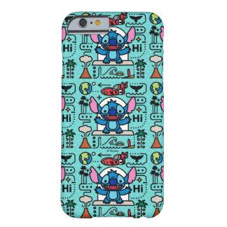Lilo & Stich   Stitch Emoji Barely There iPhone 6 Case