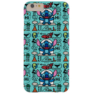 Lilo & Stich   Stitch Emoji Barely There iPhone 6 Plus Case