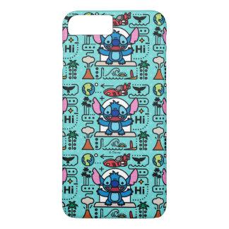 Lilo & Stich   Stitch Emoji iPhone 8 Plus/7 Plus Case