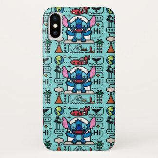 Lilo & Stich | Stitch Emoji iPhone X Case