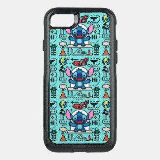 Lilo & Stich   Stitch Emoji OtterBox Commuter iPhone 8/7 Case