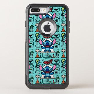Lilo & Stich   Stitch Emoji OtterBox Commuter iPhone 8 Plus/7 Plus Case