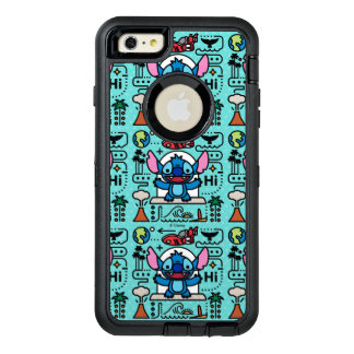 Lilo & Stich   Stitch Emoji OtterBox Defender iPhone Case