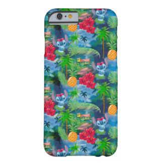 Lilo & Stich   Stitch Pattern Barely There iPhone 6 Case