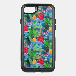 Lilo & Stich   Stitch Pattern OtterBox Commuter iPhone 8/7 Case