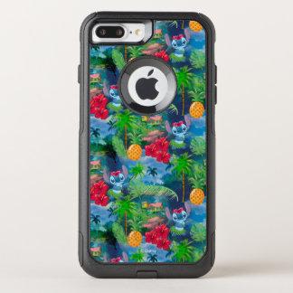 Lilo & Stich   Stitch Pattern OtterBox Commuter iPhone 8 Plus/7 Plus Case
