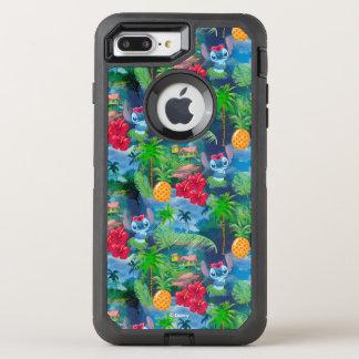 Lilo & Stich   Stitch Pattern OtterBox Defender iPhone 8 Plus/7 Plus Case